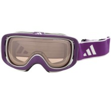 Adidas ID2 Pure Snowsport Goggles in Shiny Purple/Lst Active Silver Light - Closeouts