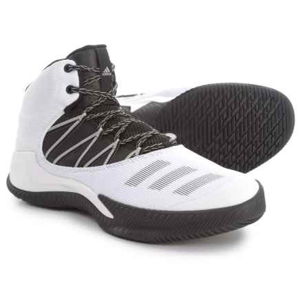 adidas Infiltrate Basketball Shoes (For Men) in Footwear White/Core Black/Grey - Closeouts