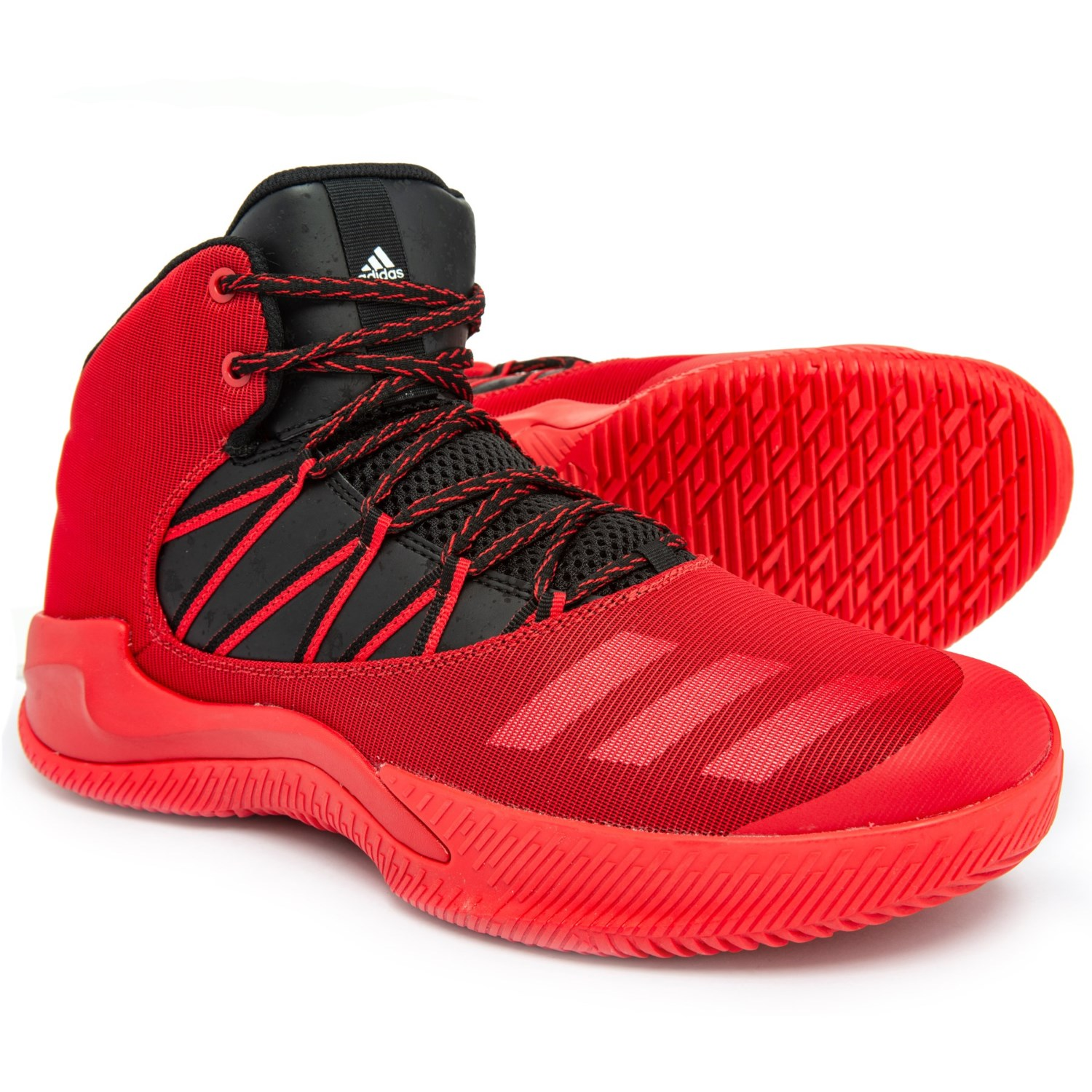 dff2f4154a2 adidas Infiltrate Basketball Shoes (For Men) in Scarlet Core Black Footwear  White