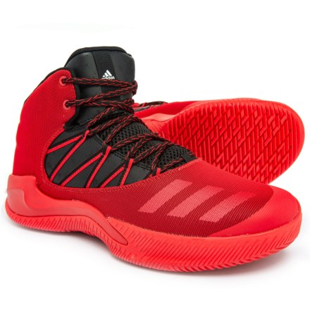 6a2cefbb6bfe adidas Infiltrate Basketball Shoes (For Men) in Scarlet Core Black Footwear  White
