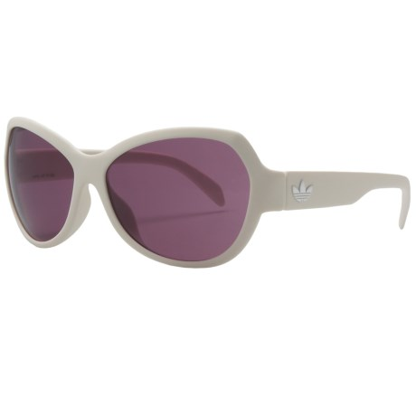 Adidas Ipanema Sunglasses (For Women) in Matte White/Violet