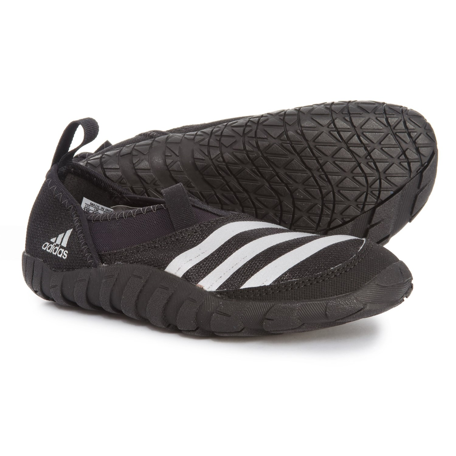f0fe5e25322f adidas Jawpaw Water Shoes (For Little and Big Kids) in Black Silver Metallic