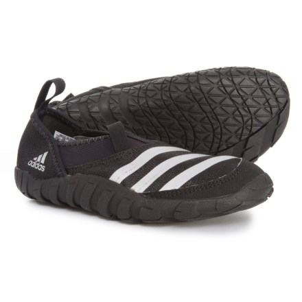 buy popular d80da 7875c adidas Jawpaw Water Shoes (For Little and Big Kids) in Black Silver Metallic