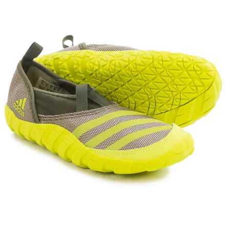 adidas Jawpaw Water Shoes (For Little and Big Kids) in Tech Beige/Semi Solar Yellow/Base Green - Closeouts