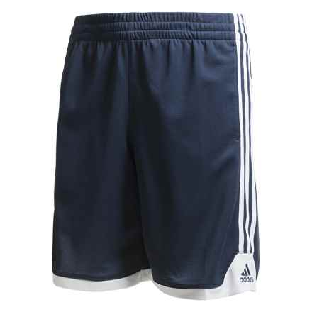 adidas Key Item Shorts (For Big Boys) in Collegiate Navy - Closeouts