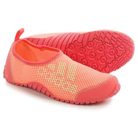 adidas Kurobe Water Shoes (For Little and Big Kids) in Super Blush/Halo/Sun Glow - Closeouts