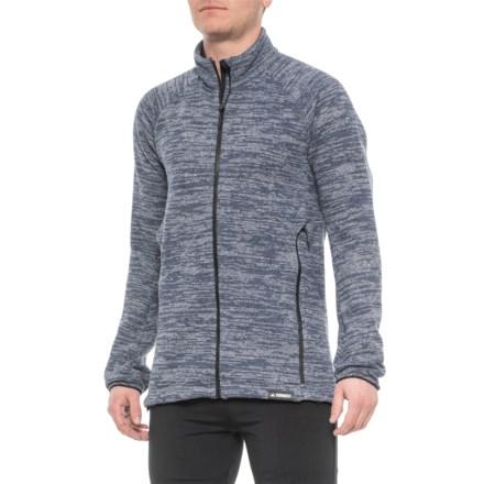 adidas knit fleece jacket
