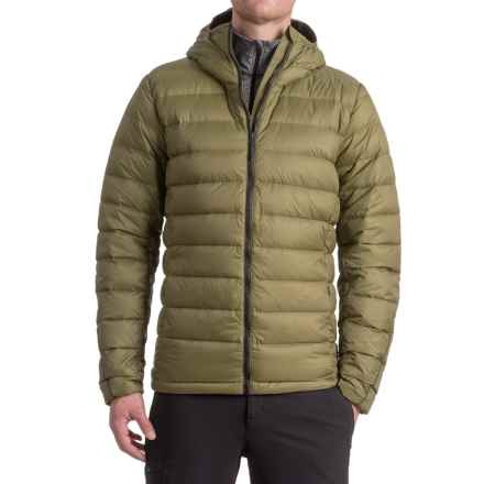 adidas Light Down Jacket - Insulated (For Men) in Olive Cargo - Closeouts