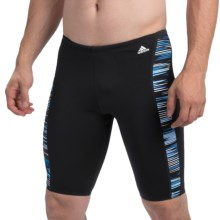 Adidas Linear Movement Swim Trunks (For Men) in Blue - Closeouts