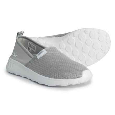 adidas Lite Racer Sneakers - Slip-Ons (For Women) in Grey - Closeouts