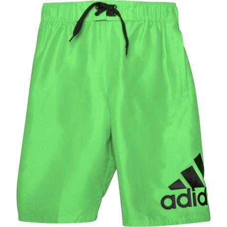 3afa57e7f5 adidas Logo Mania Swim Trunks - Sol (For Big Boys) in Sol