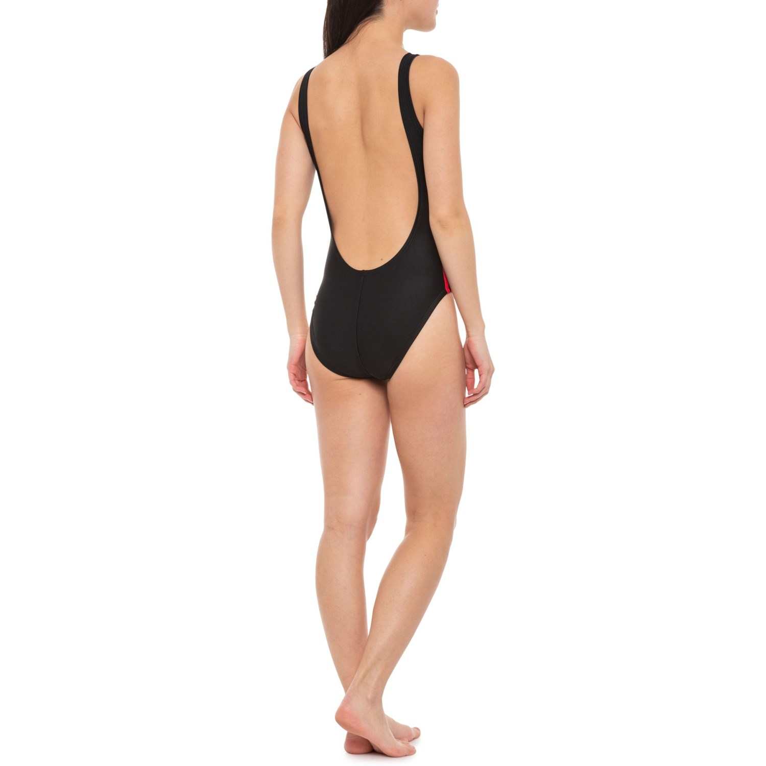 36c01cabdc adidas Logo One-Piece Swimsuit (For Women) - Save 40%