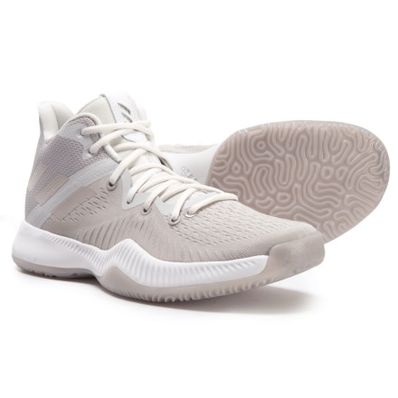 3800341ec9943 adidas Mad BOUNCE Basketball Shoes (For Men) in Cool Grey Chalk Pearl