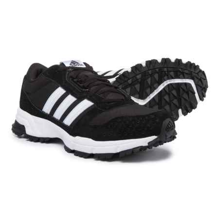 adidas Marathon 10 Trail Running Shoes (For Men) in Black/White/White - Closeouts