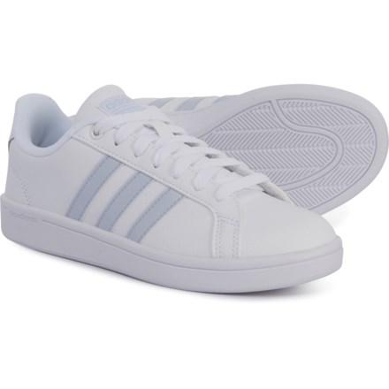 cbd7546ab54 adidas Neo Cloudfoam® Advantage Sneakers (For Women) in Footwear White/Aero  Blue