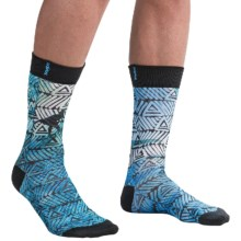 adidas Neo Print Socks - Crew (For Men) in Waves Sub - Closeouts