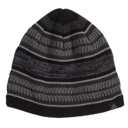 318fe8c9813c7a adidas Optimal Beanie (For Men) in Black/Night Grey/Onix/Grey