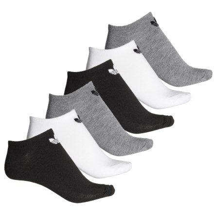 058c348e2f adidas Originals No-Show Socks - 6-Pack, Below the Ankle (For