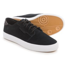 adidas Originals Seeley Essential Skate Shoes - Suede (For Men) in Black/White - Closeouts