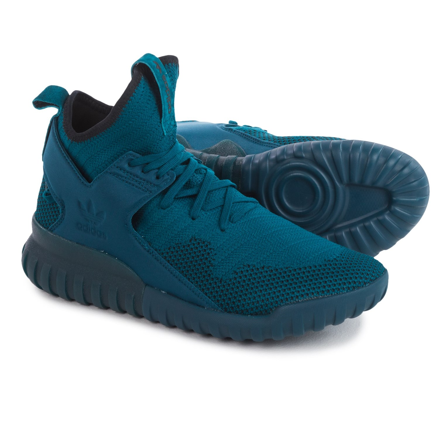 adidas Originals Tubular X Primeknit® Shoes (For Men) in Tech Steel/Tech