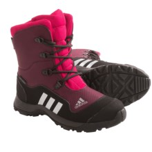 adidas outdoor Adisnow II PrimaLoft® Snow Boots - Waterproof, Insulated (For Little Kids) in Amazon Red/Tech Grey/Vivid Berry - Closeouts