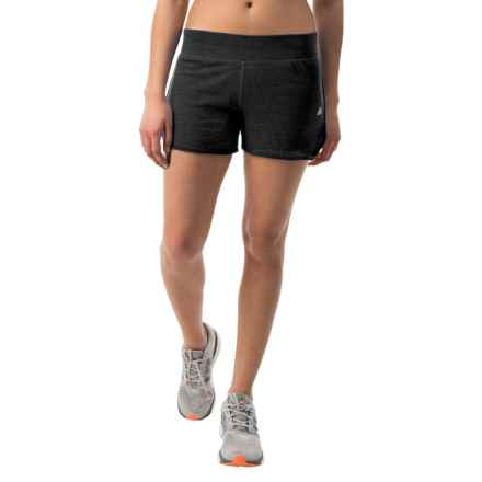 adidas outdoor Aeroknit ClimaCool® Running Shorts (For Women) in Cc Mel Black - Closeouts