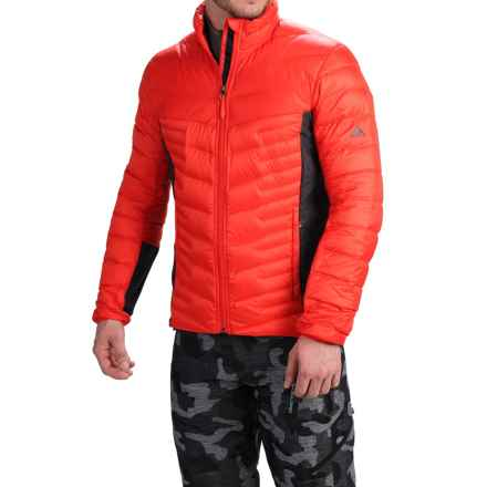 adidas outdoor Alpherr Jacket - 700 Fill Power, Down (For Men) in Bold Orange - Closeouts