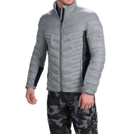 adidas outdoor Alpherr Jacket - 700 Fill Power, Down (For Men) in Clear Onix - Melange - Closeouts