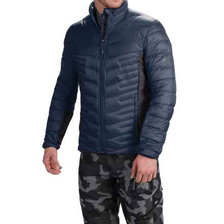adidas outdoor Alpherr Jacket - 700 Fill Power, Down (For Men) in Midnight Grey - Closeouts