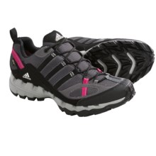 Adidas Outdoor AX 1 Gore-Tex® Trail Running Shoes - Waterproof (For Women) in Sharp Grey/Black/Bright Pink - Closeouts
