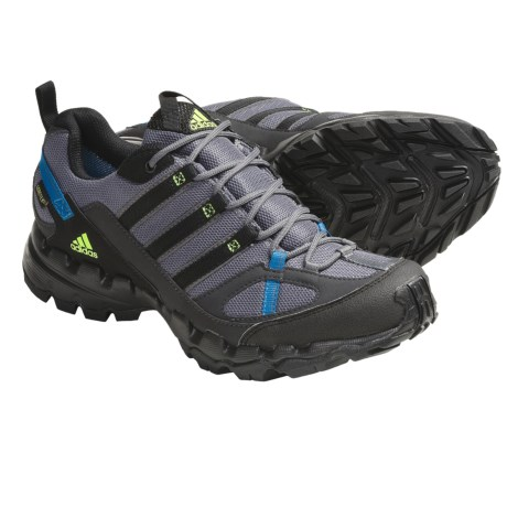 Adidas Outdoor AX 1 Gore-Tex® Trail Running Shoes - Waterproof (For Women) in Sharp Grey/Black/Sharp Blue