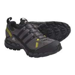 Adidas Outdoor AX 1 Gore-Tex® Trail Shoes - Waterproof (For Men) in Dark Cinder/Black/Seaweed