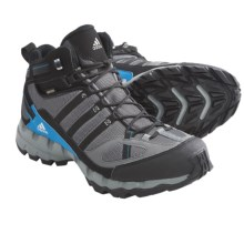 Adidas Outdoor AX 1 Mid Gore-Tex® Hiking Boots - Waterproof (For Men) in Mid Cinder/Black/Craft Blue - Closeouts