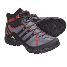 Adidas Outdoor AX 1 Mid Gore-Tex® Hiking Boots - Waterproof (For Men) in Sharp Grey/Black/Sharp Orange - Closeouts