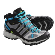 Adidas Outdoor AX 1 Mid Gore-Tex® Hiking Boots - Waterproof (For Women) in Grey Rock/Black/Lab Green - Closeouts