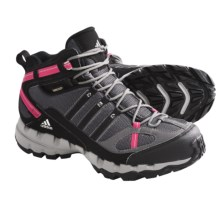 Adidas Outdoor AX 1 Mid Gore-Tex® Hiking Boots - Waterproof (For Women) in Sharp Grey/Black/Bright Pink - Closeouts