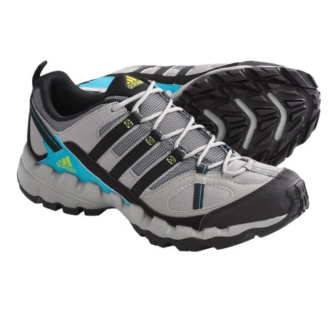 Adidas Outdoor AX 1 TR Hiking Shoes (For Women) in Grey Rock/Black/Lab Green