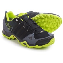 adidas outdoor AX2 Gore-Tex® Hiking Shoes - Waterproof (For Men) in Black/Semi Solar Slime/Onix - Closeouts