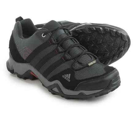 adidas outdoor AX2 Gore-Tex® Hiking Shoes - Waterproof (For Men) in Dark Shale/Black/Light Scarlet - Closeouts