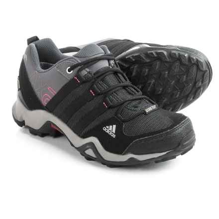 adidas outdoor AX2 Gore-Tex® Hiking Shoes - Waterproof (For Women) in Carbon/Black/Bahia Pink - Closeouts