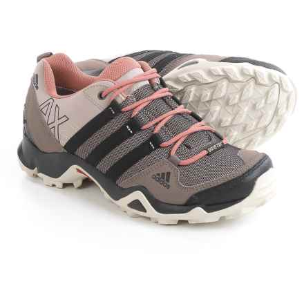 adidas outdoor AX2 Gore-Tex® Hiking Shoes - Waterproof (For Women) in Vapour Grey/Black/Raw Pink - Closeouts