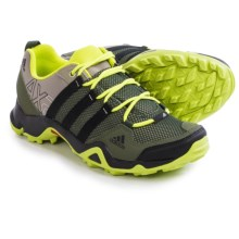 adidas outdoor AX2 Hiking Shoes (For Men) in Base Green/Black/Semi Solar Yellow - Closeouts