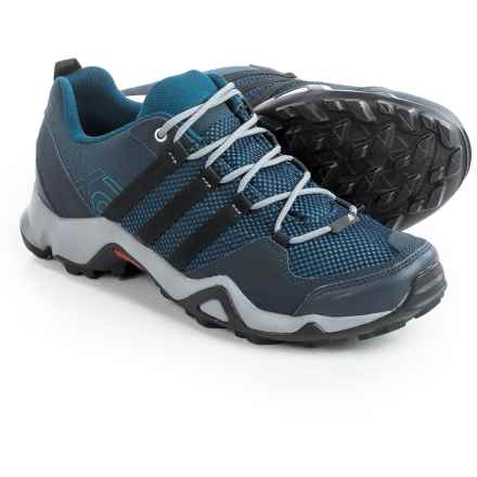 adidas outdoor AX2 Hiking Shoes (For Men) in Collegiate Navy/Black/Tech Steel - Closeouts
