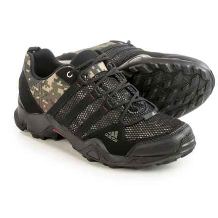adidas outdoor AX2 Hiking Shoes (For Men) in Earth Green/Black/University Red/Camo - Closeouts