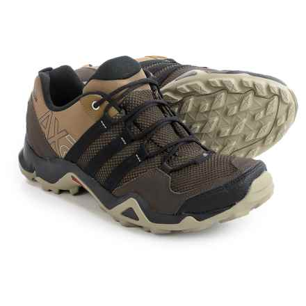 adidas outdoor AX2 Hiking Shoes (For Men) in Grey Blend/Black/Umber - Closeouts