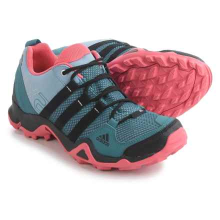 adidas outdoor AX2 Hiking Shoes (For Women) in Prism Blue/Black/Super Blush - Closeouts