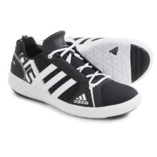 adidas outdoor Boat Lace DLX Water Shoes (For Men) in Black/White/Black - Closeouts