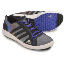adidas outdoor Boat Lace DLX Water Shoes (For Men) in Vista Grey/Black/Clear Brown - Closeouts