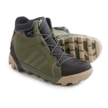 adidas outdoor CH Slopecruiser Pac Boots - Waterproof, Insulated (For Men) in Base Green/Tech Beige/White - Closeouts