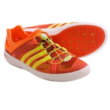 Adidas Outdoor Climacool Boat Breeze Water Shoes (For Men) in Dark Chili/Solar Slime/Solar Zest - Closeouts
